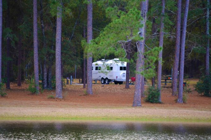 open pond alabama rv camp