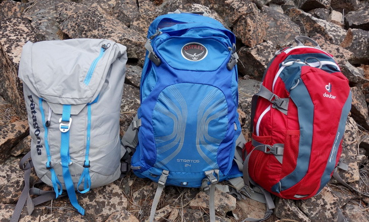 Daypack capacities