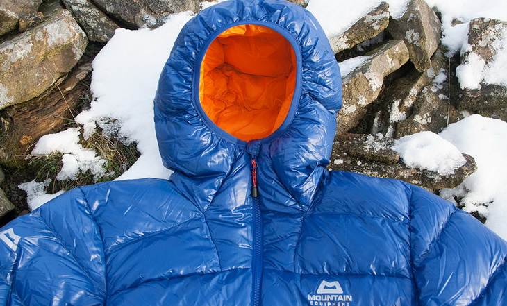Down insulating jacket