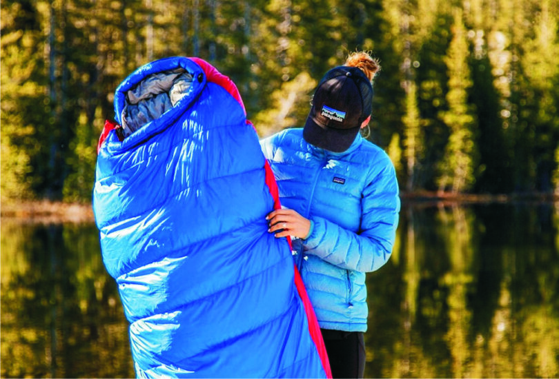 Down vs Synthetic Sleeping Bag