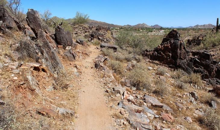 Image of uneven terrain
