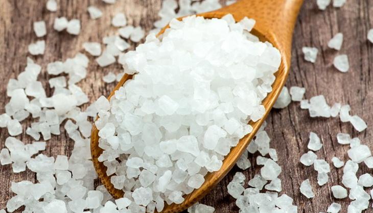 Epsom Salt on the table