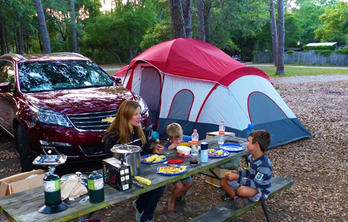 Fort Gaines Campground