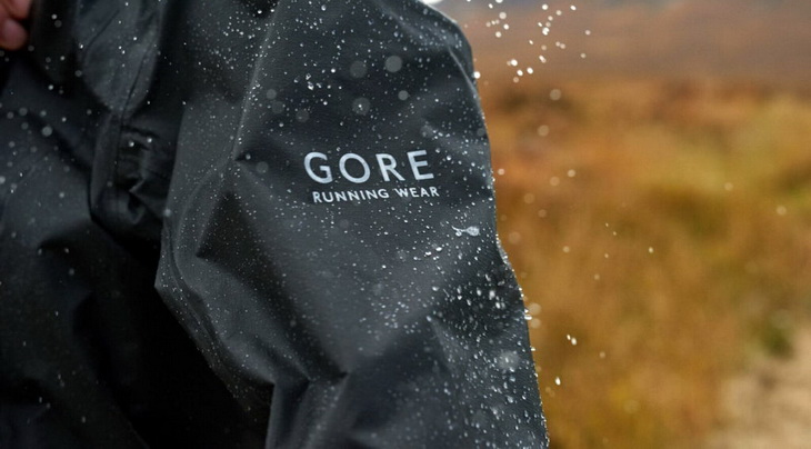 Rain on Active Run Jacket