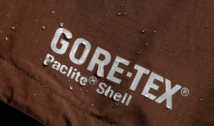 Gore-Tex mates a ptfe layer with a thin pu liner
