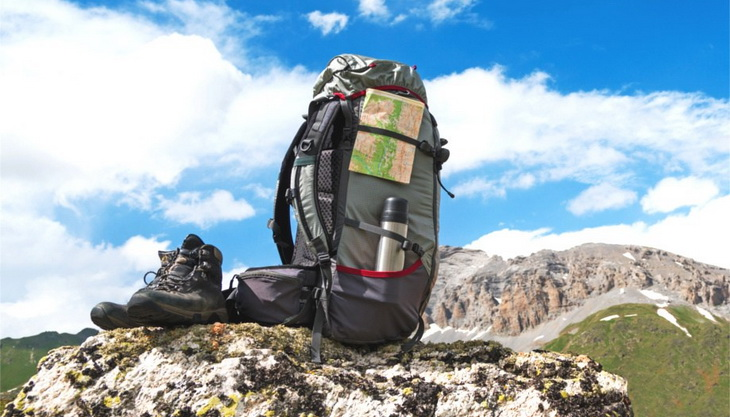 A pair of boots and a backpack - hiking must haves