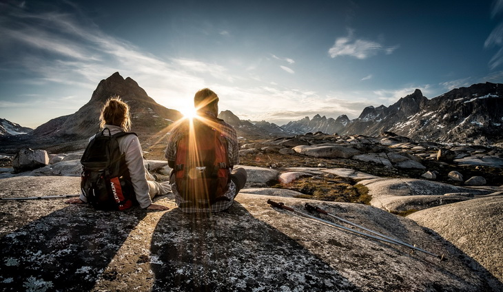 Hiking in East Greenland