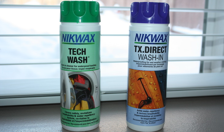 Gore-Tex washing products