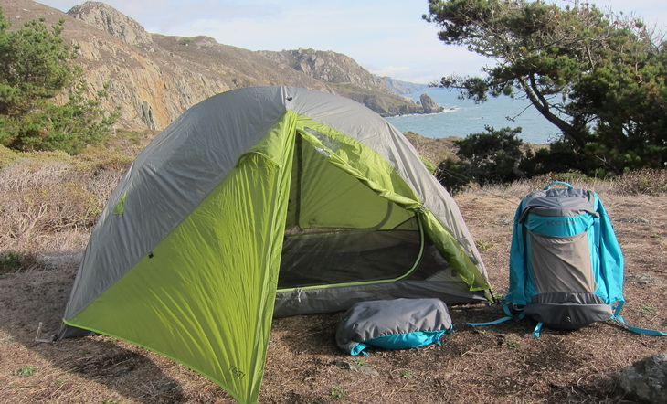 Camping with Kelty TN 2 Person Tent