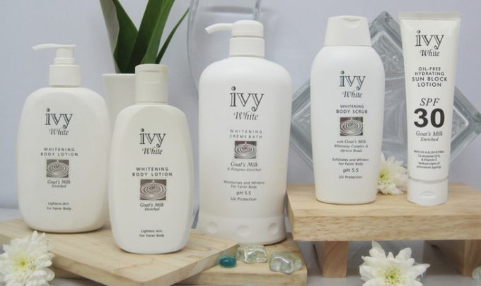 Ivy block lotion