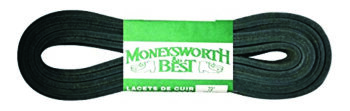 Moneysworth & Best Leather Laces