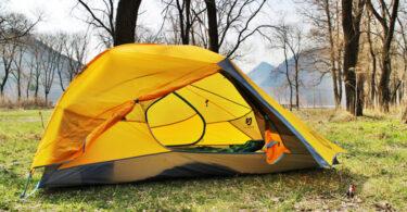Nemo Blaze 2P Tent foggy day