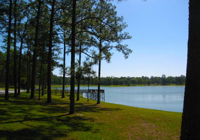 he Open Pond Recreation Area, located within Conecuh National Forest