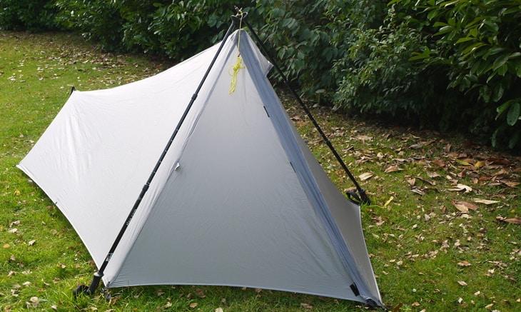 Homemade A-Frame Tent