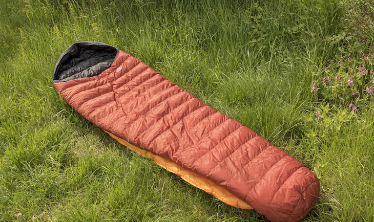 PHD Minix Sleeping Bag on the Grass