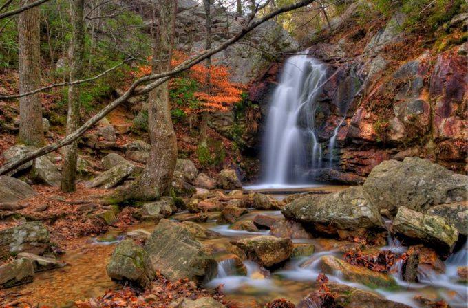 Peavine Falls oak mountain state park