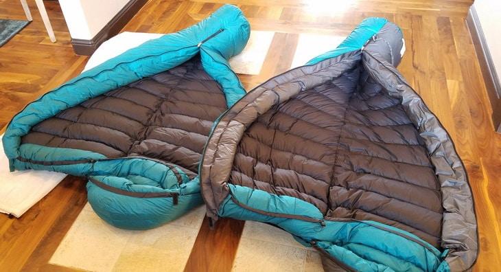 2 Puma Gore WS sleeping bags