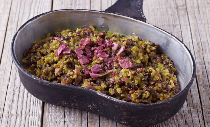 Quinoa, Lentil and Kale Stew