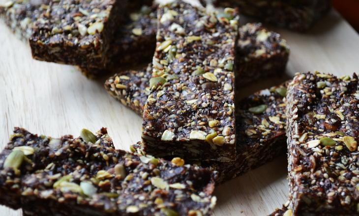 Raw Superfood and Seed Energy Bars