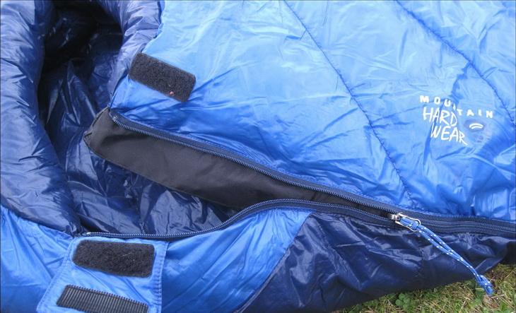 Close-up image of Mountain Hardwear Sleeping Bag