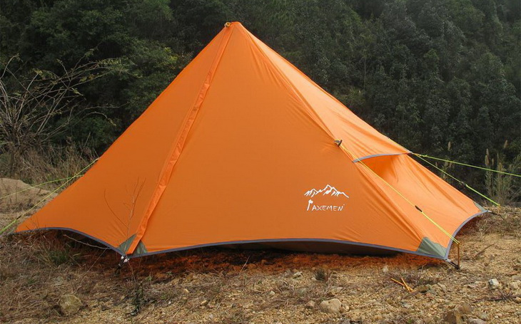 Single Layer Pyramid Tents