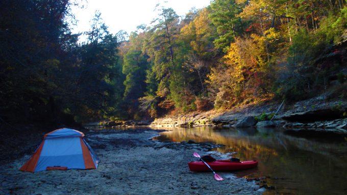 Sipsey River alabama camping
