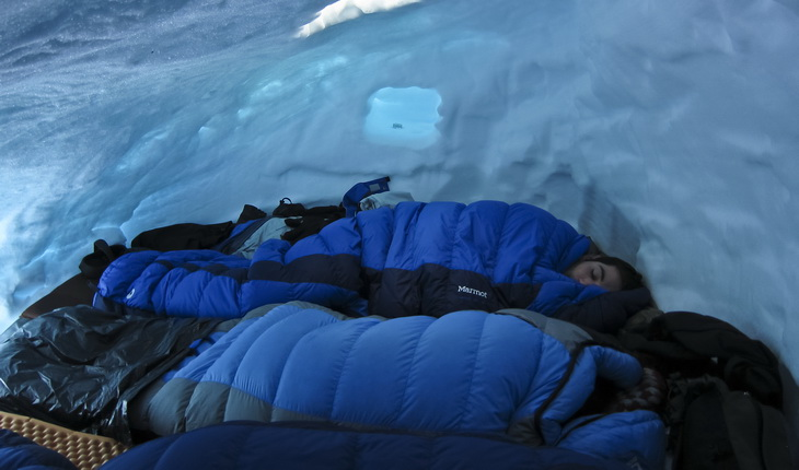 Snow Cave for Five