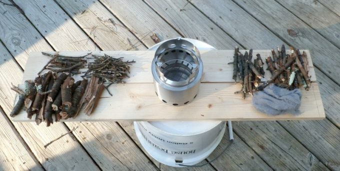 Solo stove and fuel options