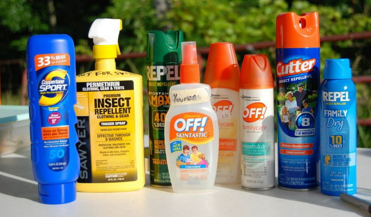 Sunscreen and Bug Repellents