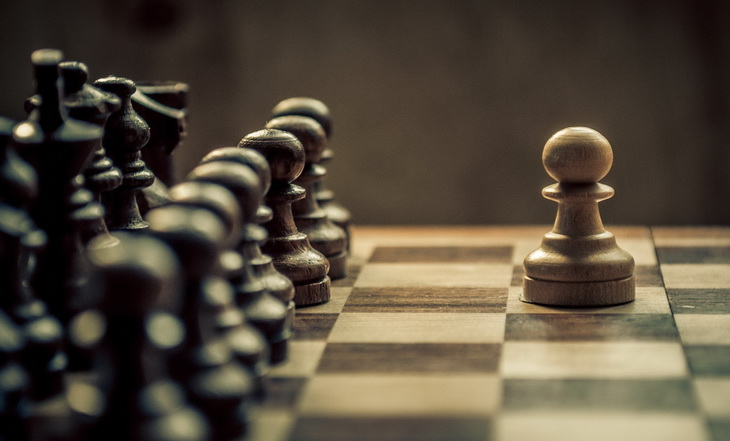 Table of chess game