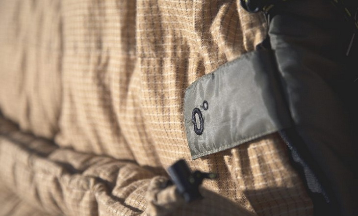 Close-up image od Teton-Sports-Sleeping-Bag