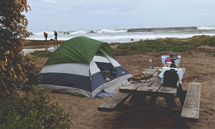 The Best Place To Pitch A Tent