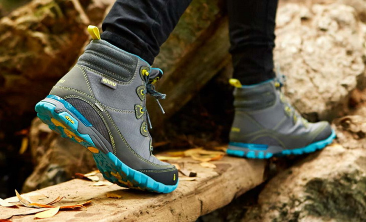 The Stride Test for hiking boots