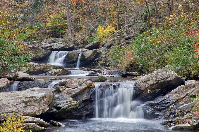 Talladega National Forest falls
