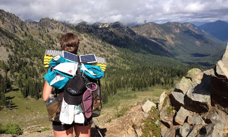 Women hike the Pacific Crest Trail