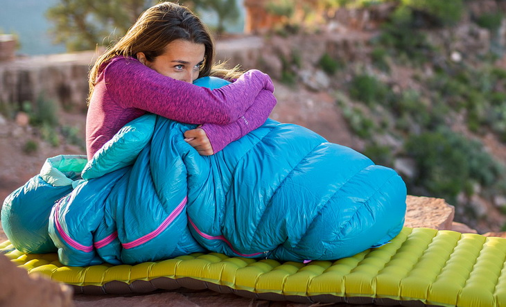 Naked sleeping bag girls — photo 9