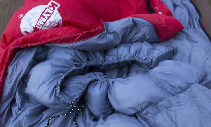 Close-up of Klymit KSB 20 Sleeping Bag