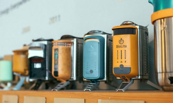 biolite-gear in a store