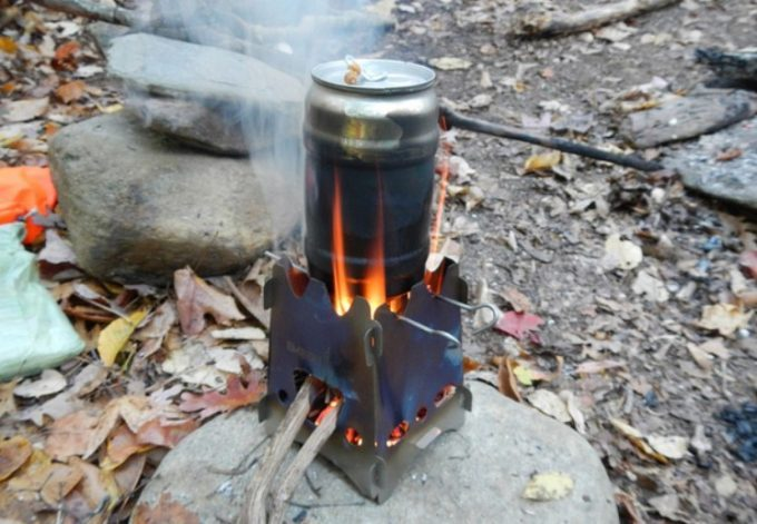 brewing-coffee-on-emberlit-stove-