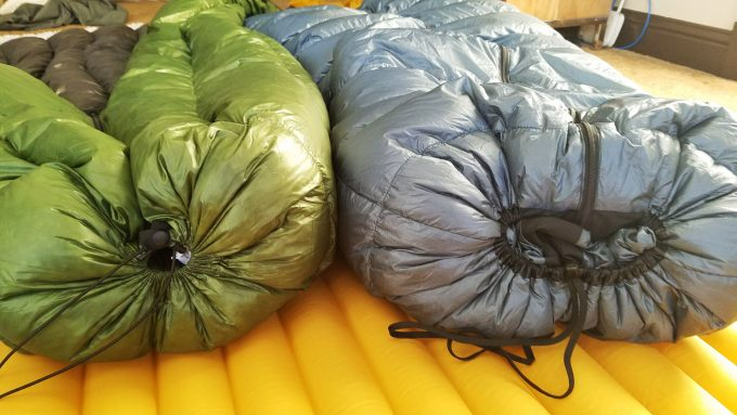 bulky sleeping bags