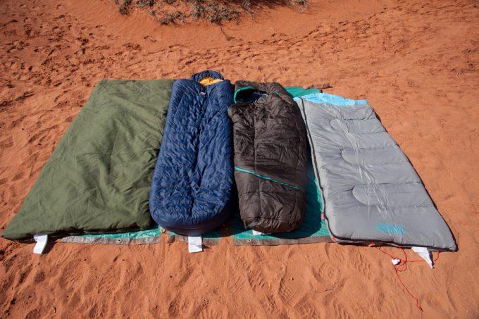 slumberjack sleeping bag with competitors