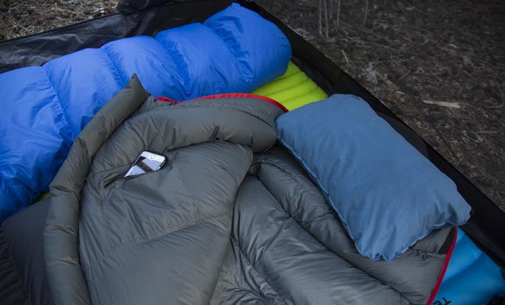 Image of TETON Sports Altos sleeping bags in a tent