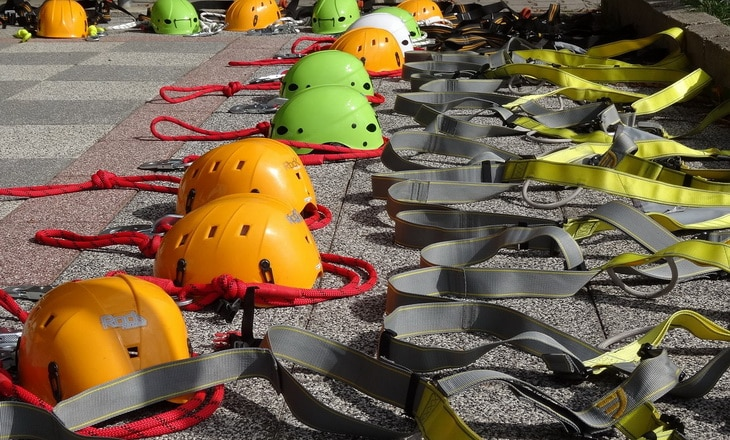 Image showing climbing equipment