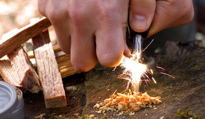 ferro rod spark