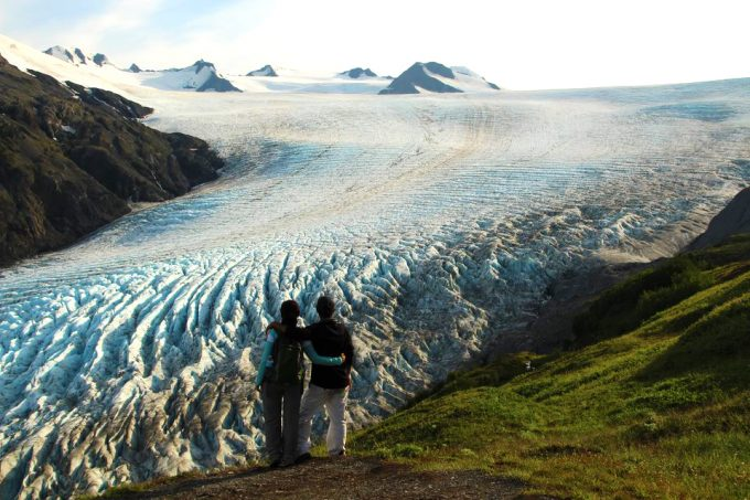 harding icefield trail top