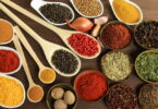 herbs-spices-on a table