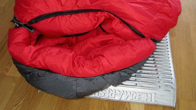 hood of bison sleeping bag