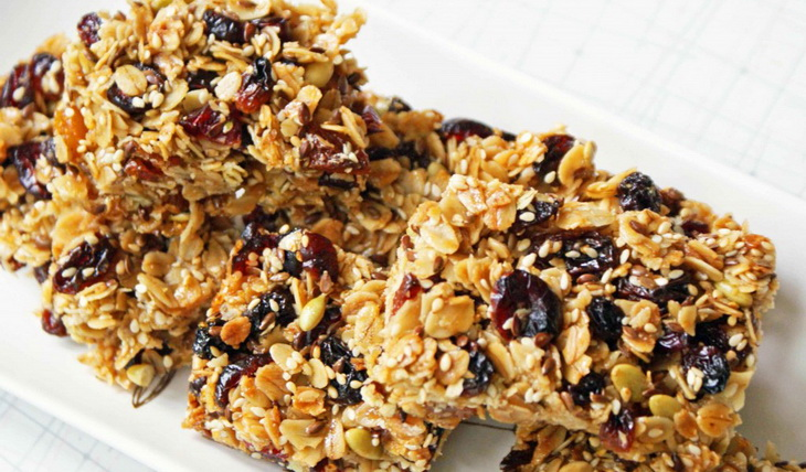 Energy Bar Recipe for Camping