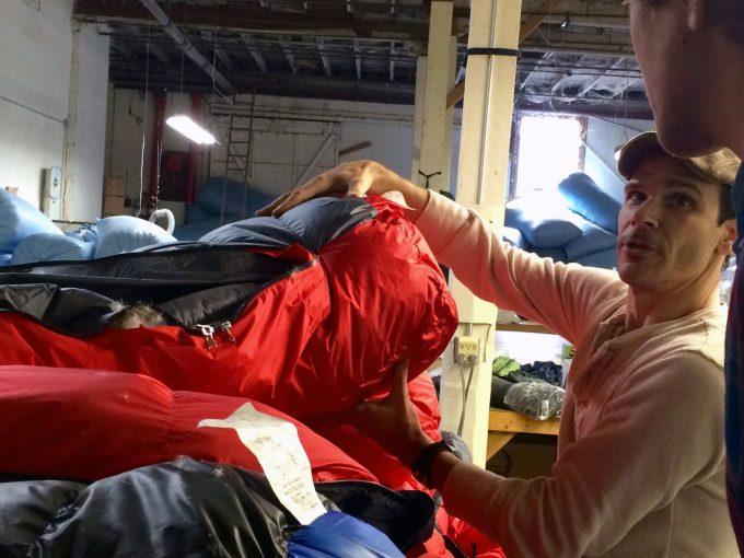 materials of bison sleeping bag