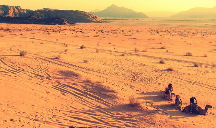 Landscape Photography of Desert Ground at Daytime